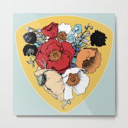 Bouquet Shield Metal Print