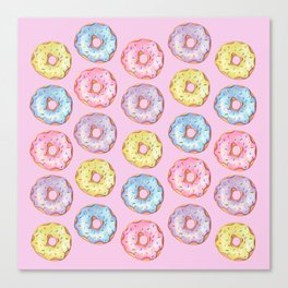 Donut Party Canvas Print