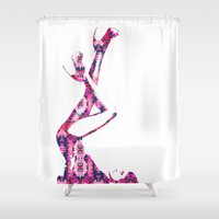 heels Shower Curtains featuring Heels by fashionistheonlycure