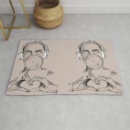Chewing Gum Rug