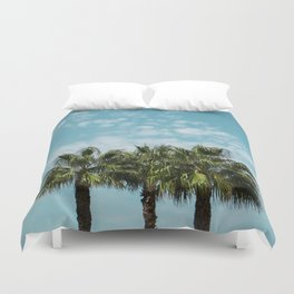 Good vibes. Landscape Duvet Cover