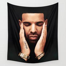 Pensive Drake Wall Tapestry