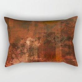 Organic rust Rectangular Pillow