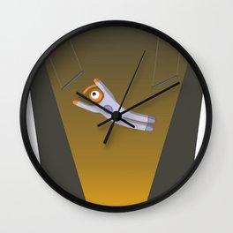 trapecist eye Wall Clock