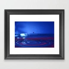 Timeless Waterdrop Framed Art Print