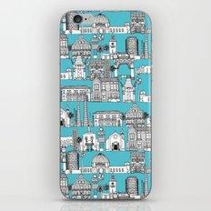 Los Angeles blue iPhone & iPod Skin
