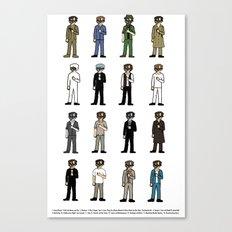 Woody Allen's Canvas Print