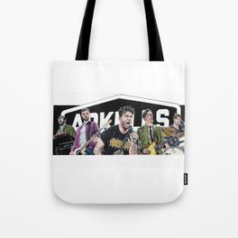 Arkells Touring Band Tote Bag