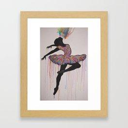 Dancer 2 Framed Art Print