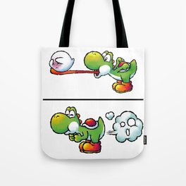 Farting Yoshi Green Tote Bag