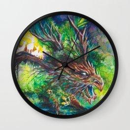 Guardian Dragon Wall Clock