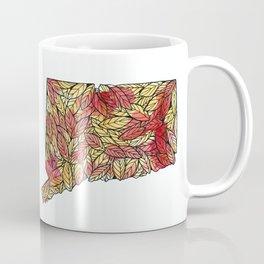 Connecticut Leaves Coffee Mug