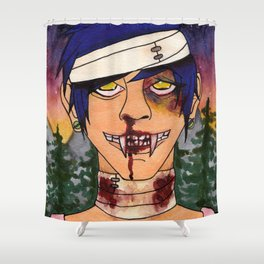 Vampire Guys Will Never Hurt You Shower Curtain