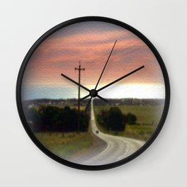 Road to Jervis Bay Wall Clock