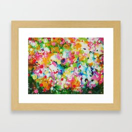 Full abstract Framed Art Print