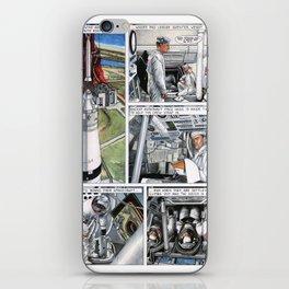 Apollo 11 comic - page 4 iPhone Skin