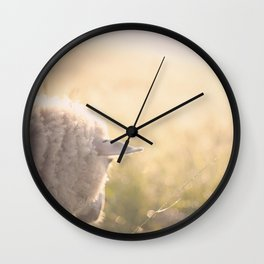 Good morning world Wall Clock