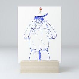 Wallflower(II) Mini Art Print