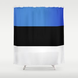 Flag of Estonia Shower Curtain