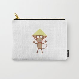 Vietnamese monkey Carry-All Pouch