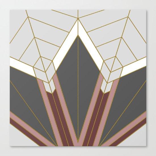 ART DECO G1 (abstract) Canvas Print