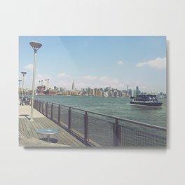 East River Ferry Metal Print