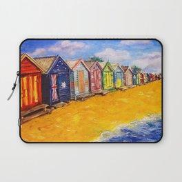 Beach Houses Laptop Sleeve