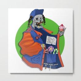 Candy dealer Metal Print