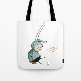 Goji on the swing Tote Bag