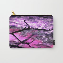 Pink Lavender Nature Abstract Carry-All Pouch