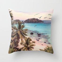 Koh Samui Throw Pillow