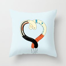 Hearted Throw Pillow
