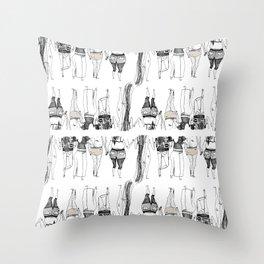 Butts Throw Pillow