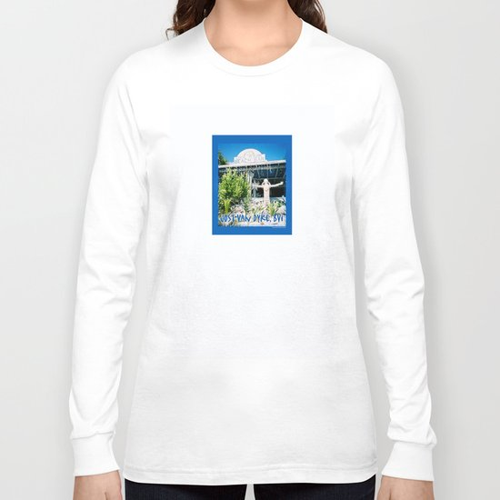 Ivan's on Jost Van Dyke, BVI- World's best honor bar! Long Sleeve T-shirt