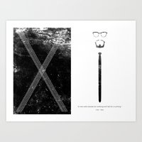 Malcolm X Quote Poster Art Print
