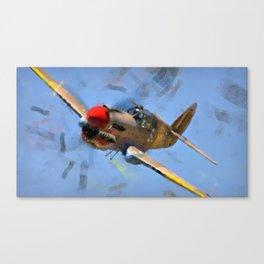 Curtis P-40 Canvas Print