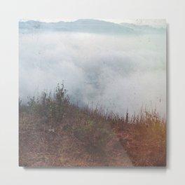 Clouds at Vesuvius Metal Print