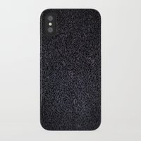 furry iPhone & iPod Cases featuring Furry Wood by Ben Bauchau