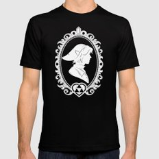 The Warrior MEDIUM Black Mens Fitted Tee