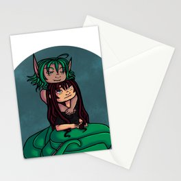 a naga love Stationery Cards