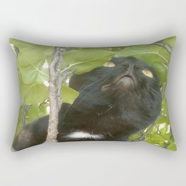 Black Angel Rectangular Pillow