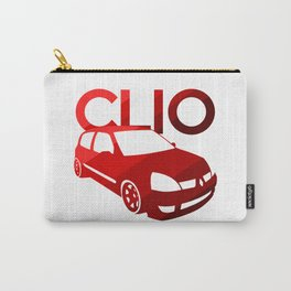 Renault Clio - classic red - Carry-All Pouch