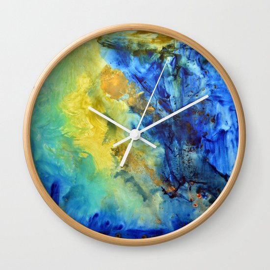 """Wave"" Wall Clock"
