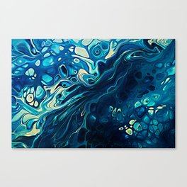 River of Blue Canvas Print