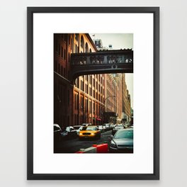New York - Chelsea Market Framed Art Print