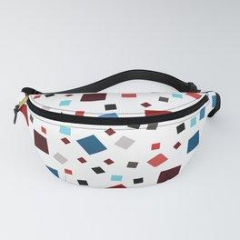 Cube pattern Fanny Pack