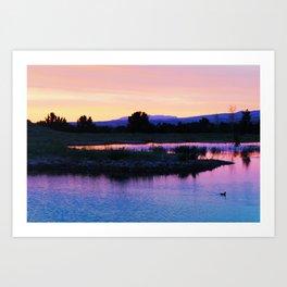 Boise Idaho  Art Print