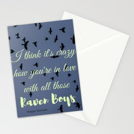 The Raven Boys Stationery Cards