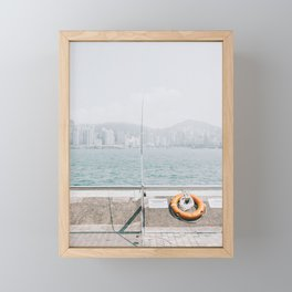Hong Kong Framed Mini Art Print