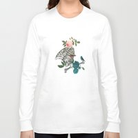 romantic Long Sleeve T-shirts featuring Romantic Halloween by Paula Belle Flores